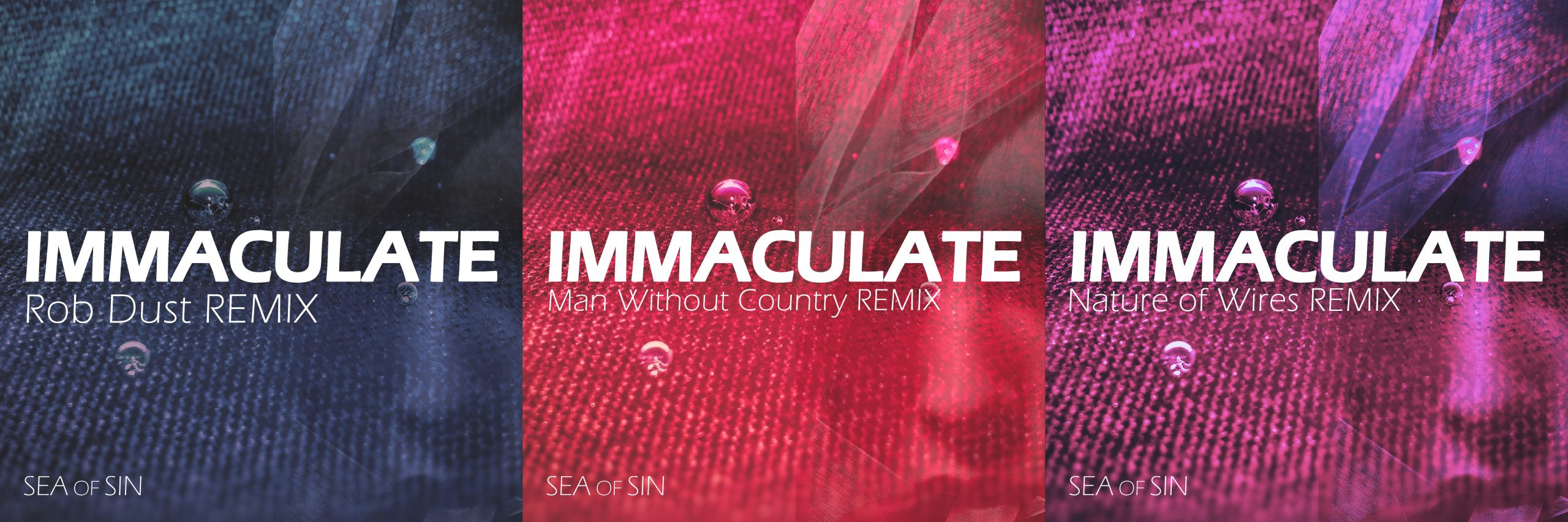"""New Remix trilogy for """"Immaculate"""""""